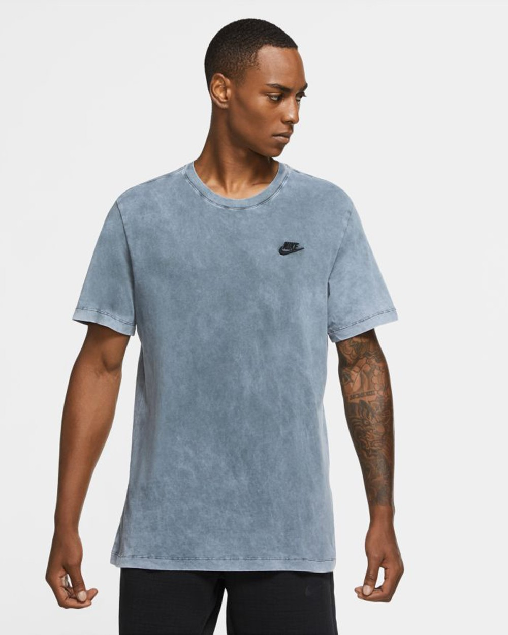 M Nsw Ss Tee Washed Club
